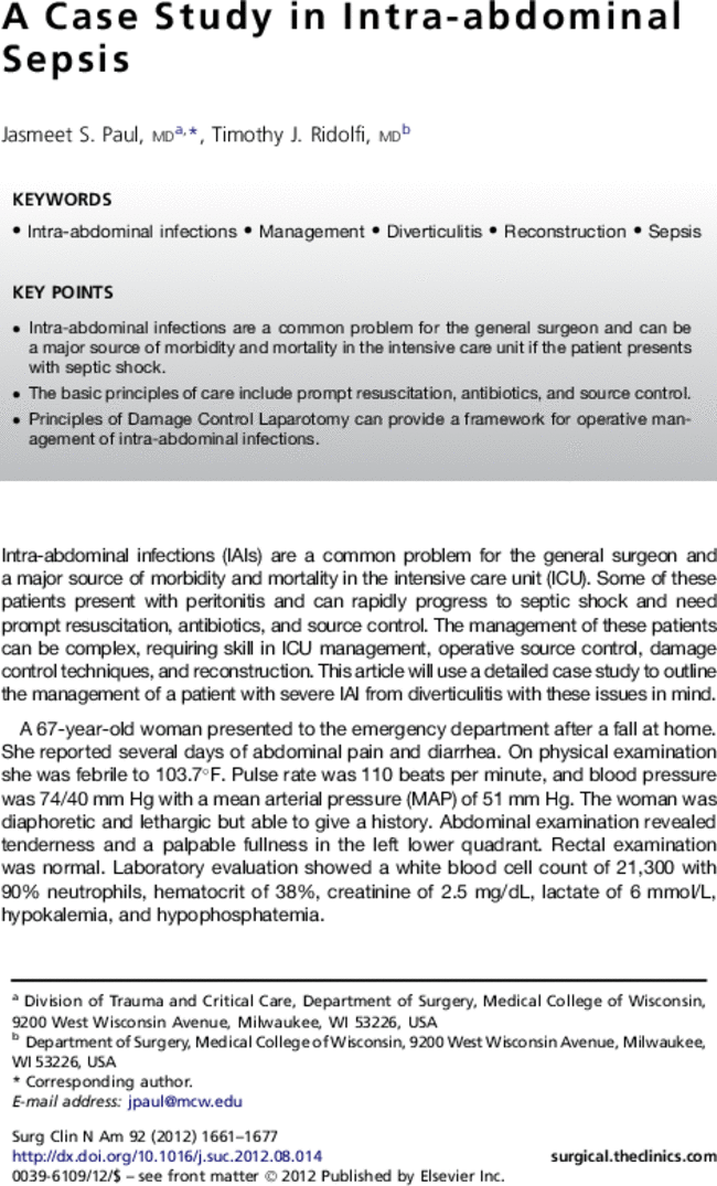 goal directed resuscitation for patients with early septic shock pdf